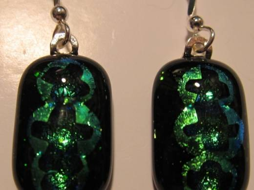 ohgw green adventurine base with dichroic radium