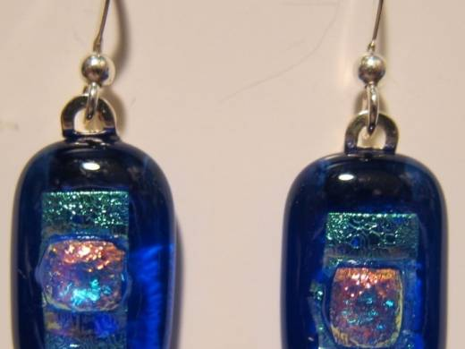 ohgw cathedral blue with dichroic embellishment